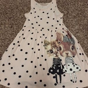 H&M tank top polka dot dress